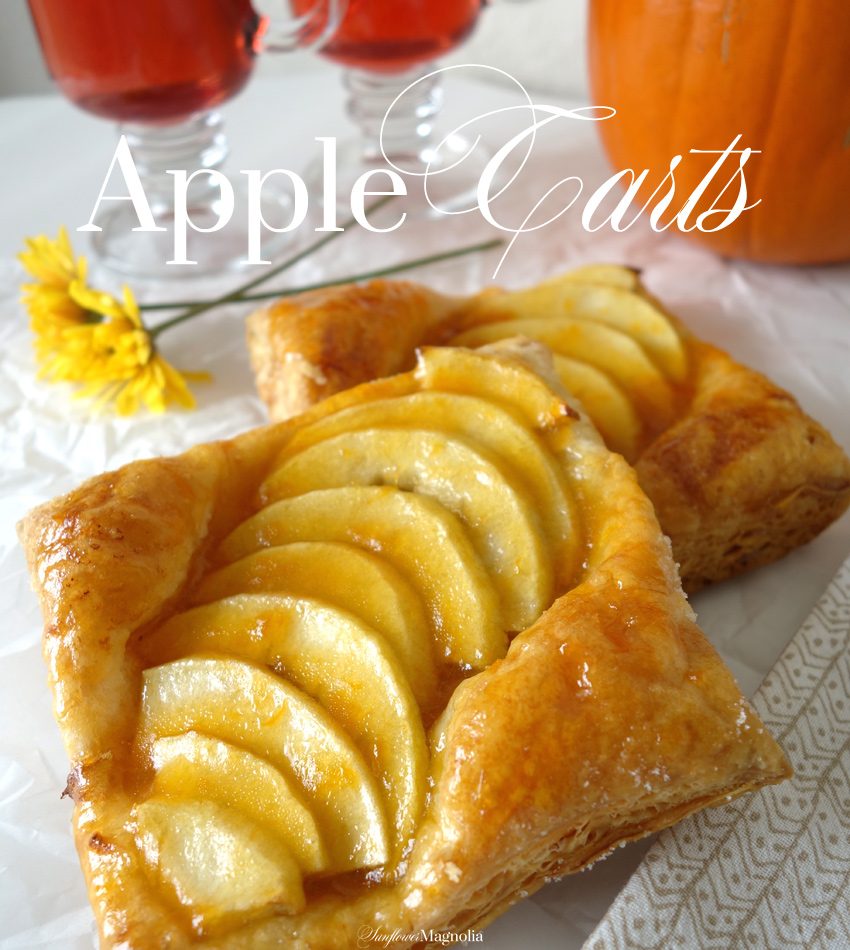 Apple Tarts | www.sunflowermagnolia.com